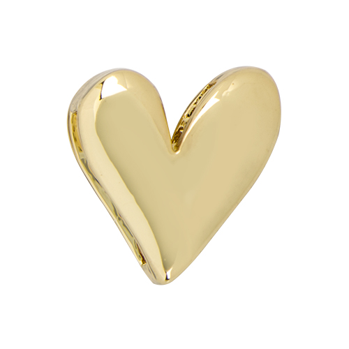 BS1011 Gold Heart Slider